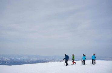 From the foot of Mt Asahidake, the highest peak of Hokkaido