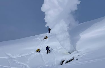 Approaching the fumarole in the easy way :)